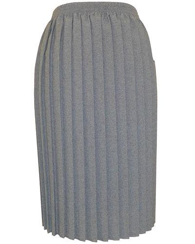 big Mesdames couteau Plissée Jupes grandes tailles en choix de couleurs tailles.