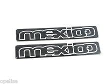 2 x Genuine New FORD MEXICO BADGE Emblem Logo Escort Orion Puma Fiesta Mondeo