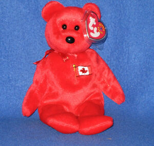 TY PIERRE the BEAR BEANIE BABY - MINT with MINT TAGS - CANADA ... 675213969fa