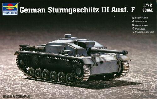 Neu Trumpeter 07259-1:72 Sturmgeschütz III F