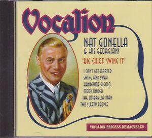 NAT-GONELLA-amp-HIS-GEORGIANS-BIG-CHIEF-SWING-IT-CD
