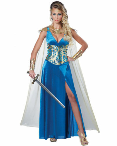 Warrior Queen Medieval Costume for Women size XS /& M New by Ca Costume 01590