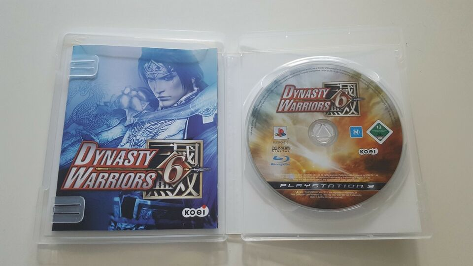 Dynasty Warriors 6, PS3