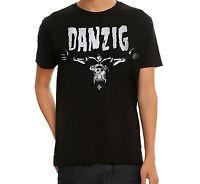Misfits Danzig Skeleton Logo T-shirt 100% Authentic & Official