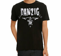 Misfits Danzig Skeleton Logo T-shirt 100% Authentic & Official