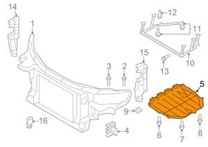 OEM-Audi-Tt-8J3-Motore-Sottoscocca-Cover-8J8825237A-2010-Originale