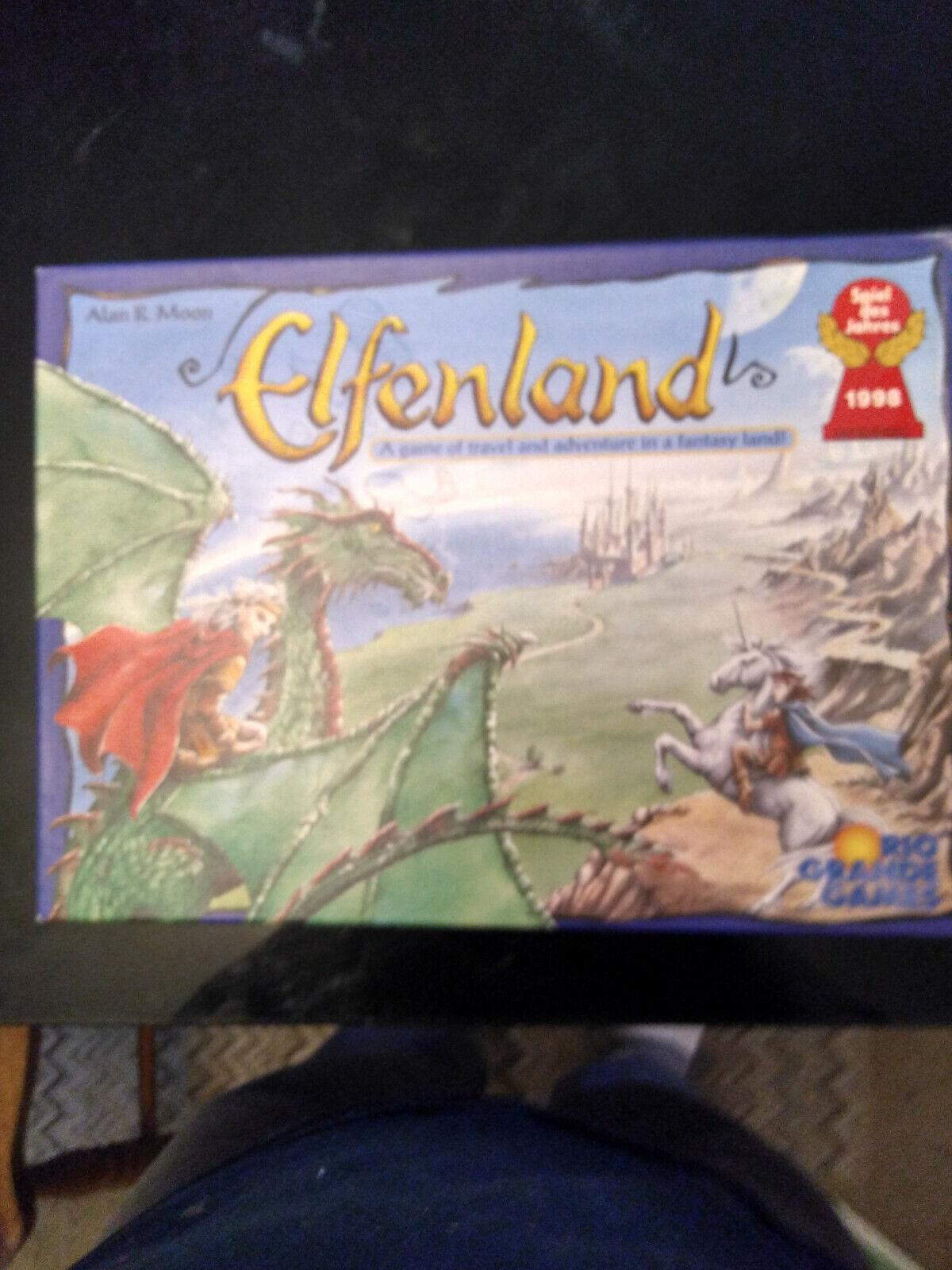Elfenland Juego de Tablero  un juego de viaje y aventura en una tierra de fantasía