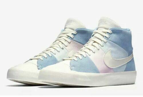 Nike SB MEN'S Blazer Royal EASTER QS SIZE 9 BRAND NEW SPRING PATCHWORK