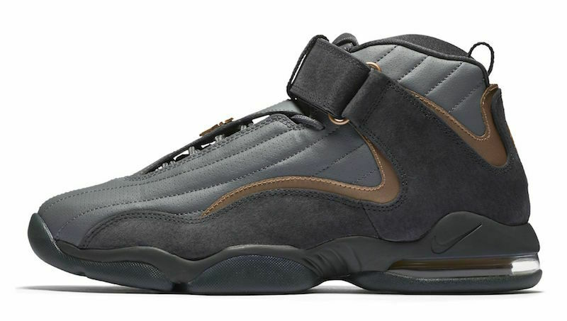 2017 nike air max Penny 4 Sz 14 Wolf gris Copper coin Hardaway OG 864018-002