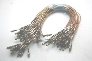 10x-Microwave-RF-Coaxial-Cable-50cm-SMB-Female-to-SMA-Female-Connectors