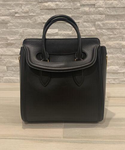Alexander McQueen heroine tote large Black handbag