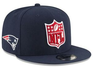 bb33271d8 NFL TEAMS AND COLORS NFL SHIELD FRONT NEW ERA 9FIFTY OSFM SNAPBACK ...