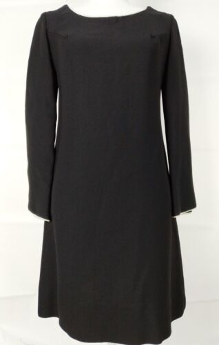 Corky Craig California Micro Dress VTG Black Faux