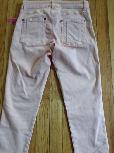 skinny 2 Jeans poches pâle pêche passepoil 26 Alice Nwt 5 187 Olivia IvxvqOC