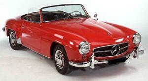 Mercedes-Benz-W121-190SL-Teppich-Set-1955-1963