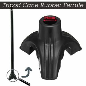 19mm-3-4-Tripod-cane-Tips-Walking-Stick-Bottom-Foot-Non-slip-Silicone-Rubber