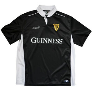 Rugby-Shirt-Black-and-White-Guinness-Performance-Short-Sleeve
