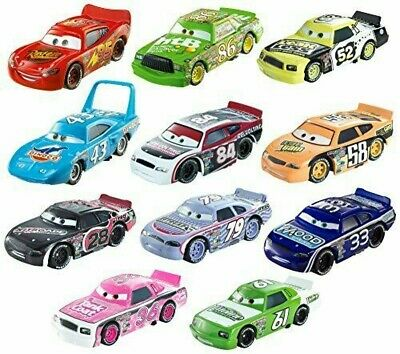 Disney Cars Characters Car Piston Cup 11 Units Set Disney Cars Dot