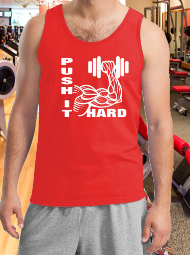 Gym Vest T-Shirt Weight Lifting Running Tank Top Work Out T-Shirt Muscle man Fit