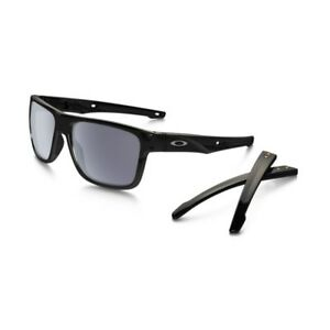 Lunettes-de-soleil-Oakley-Crossrange-Polished-Black-Verre-Gray-Oakley