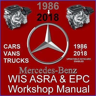 2018 Mercedes WIS ASRA & EPC Service Repair Workshop Manual Download  Complete | eBay