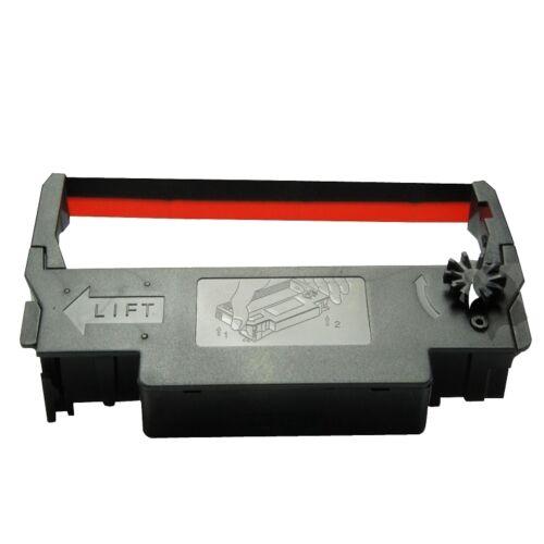 Samsung Bixolon SRP 270 SRP 275 Black//Red Compatible Ribbons Free Shipping 12PK