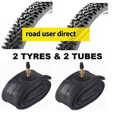 2 X 26 X 2.10 neumáticos y 2 X Interior Tubos-válvulas presta-Entrega Gratis