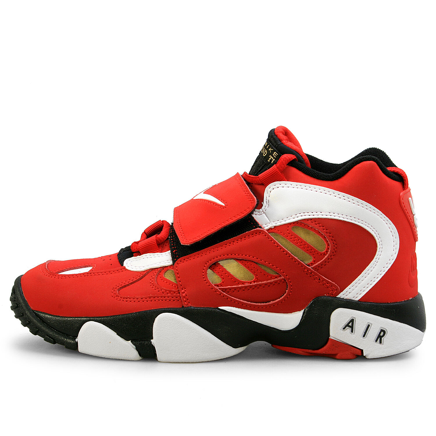 Nike Air Red/Gold Diamond Turf  II Red/Gold Air Men's Athletic Shoes Size 13 756c2e