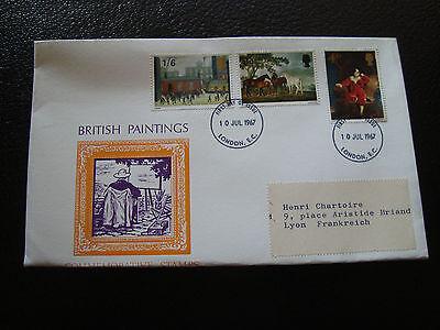 Tag 10/7/1967 Umschlag 1 cy17 Vereinigte Königreich Stabile Konstruktion SchöN Vereinigtes Königreich