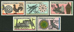 Czechoslovakia 1826-1830, MI 2086-2090, MNH. Ornamental Wireworks, 1972