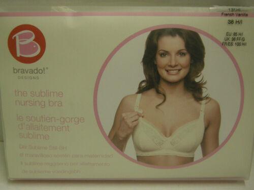 Bra H The francese 38 colore vaniglia Nursing Bravado di i Sublime nuovo zecca taglia qtC6TYw