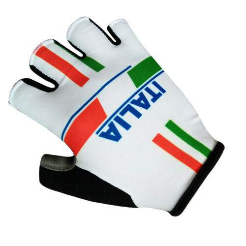Anti-Slip Bike Bicycle Half Finger ITALIA Cycling Gloves GEL Pad Fishing Gloves
