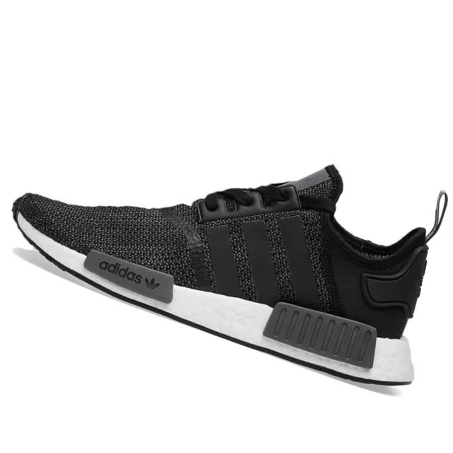 Men's adidas NMD R1 Core Black Grey