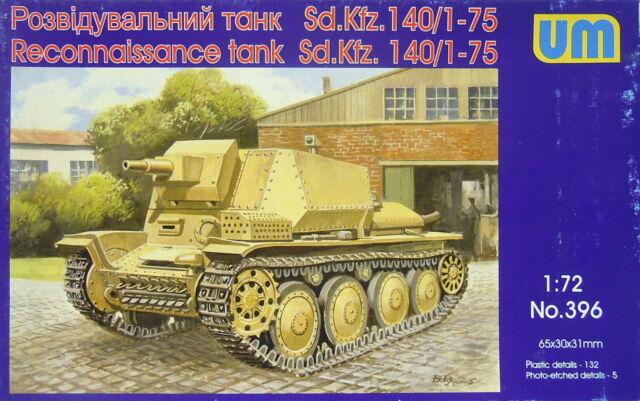Aufkläungspanzer 140/1-75 , 1/72 , UM , Plástico, Nuevo