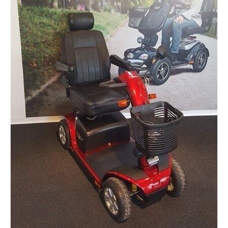 El-Scooter Victory 10 DX 4-hjulet, 2014, Rød