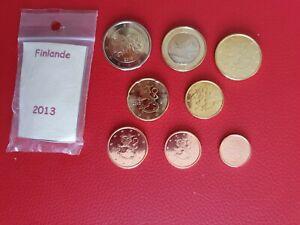 * Série complète UNC -  FINLANDE 2013 - 8 pièces