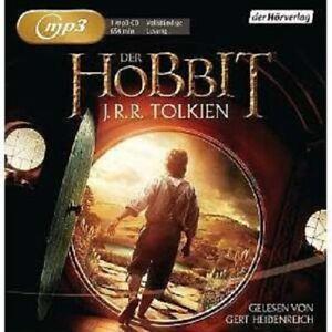 J-R-R-TOLKIEN-GERT-HEIDENREICH-DER-HOBBIT-MP3-CD-LESUNG-HORBUCH-FANTASY-NEW
