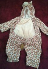 Giraffe Toddler Costume  Ages 2-4 Dress Up  Playful Plush Halloween (G)