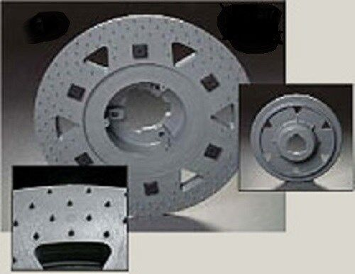 """MALISH 19/"""" TRI-LOK PAD DRIVER w//RISER /& NP-9200 PLATE fits most 20/"""" machines"""