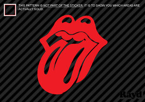 Large Rolling Stones Tongue Decal Sticker 12 Inch Tall Ebay