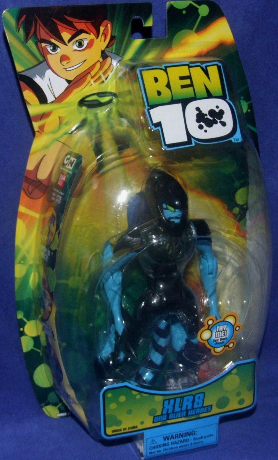 BEN 10 DNA Alien Heroes XLR8 Cartoon Network 6