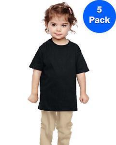 Gildan-Boys-Heavy-Cotton-5-3-oz-T-Shirt-5-Pack-G510P-All-Sizes