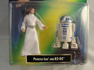 STAR-WARS-PRINCESS-LEIA-amp-R2-D2-CARRIE-FISHER-PL-COLLECTION-1997-CARD-KENNER-RARE