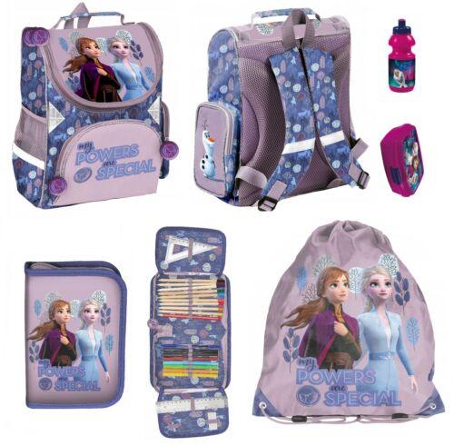 5-tlg set EISKÖNIGIN Disney Frozen Schulranzen Federmappe gefüllt TURNBEUTEL