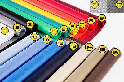 Profi Hintergrund 50cm Breit 100cm  Lang , 17 Farben !