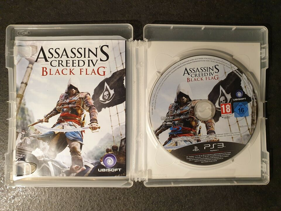 Assassin's Creed IV - Black Flag, PS3, action