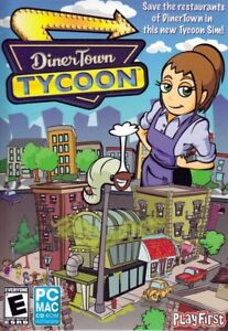 Diner Town Tycoon Pc Sim Game Restaurant Management Dinertown New