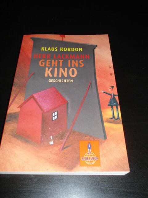 Herr Lackmann geht ins Kino von Klaus Kordon (2008, Taschenbuch)