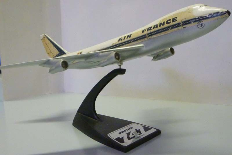 Air France B747 1 200 brand TOPPING model no herpa airplast wooster gemini AX