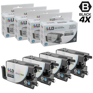 LD-for-Brother-LC79-4pk-Black-Extra-HY-Ink-MFC-J5910DW-J6510-J6710-J6910